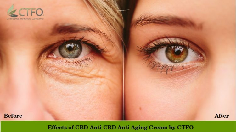 Pure Hemp CBD Anti-Aging Under Eye Cream